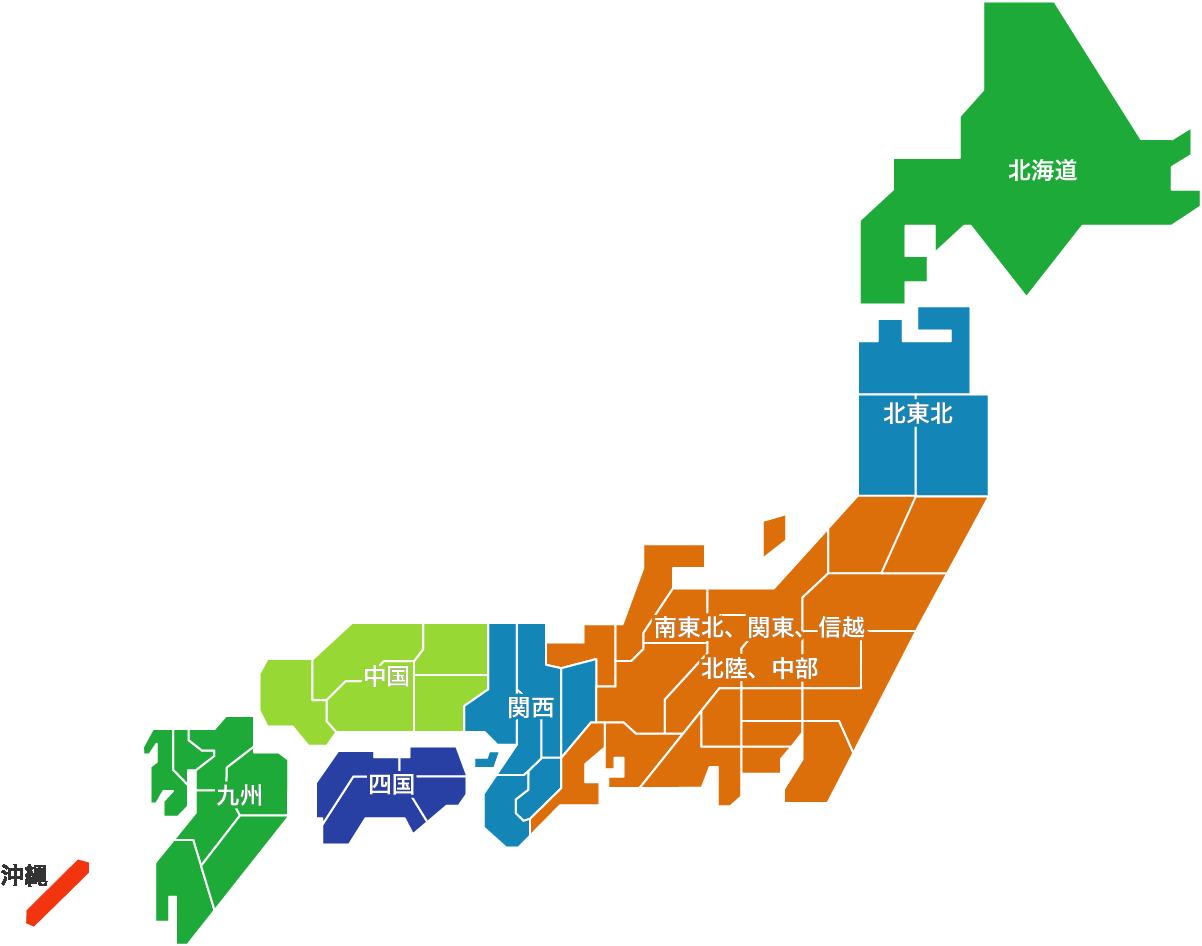 送料マップ